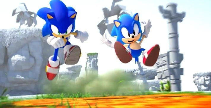 3DS : Sonic Generations en images