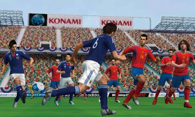 PES 2012 : La version 3DS illustrée