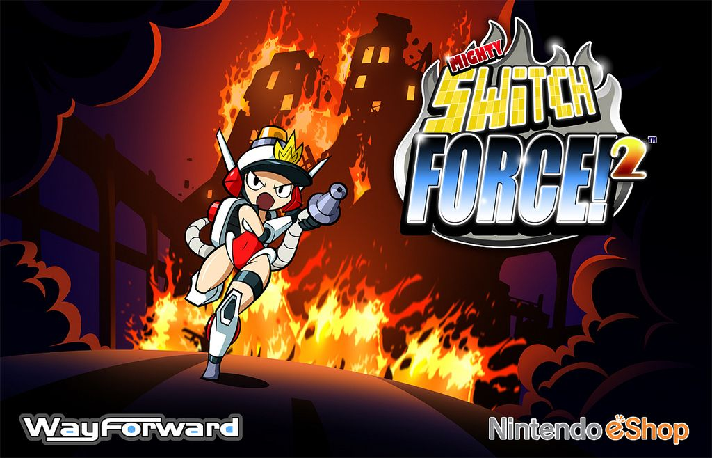 Mighty Switch Force 2 : 3DS en force avec images...
