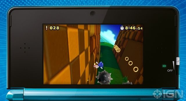 Sonic Lost World : images 3DS