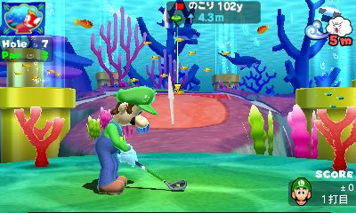 Mario Golf : Le plein d'images...