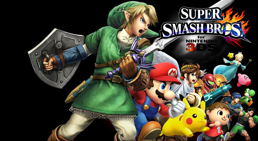 Super Smash Bros 3DS : La tonne d'images