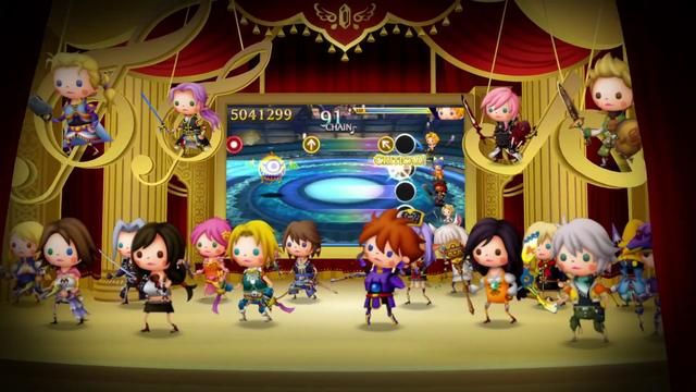 Theatrhythm FF CC : Le trailer de lancement