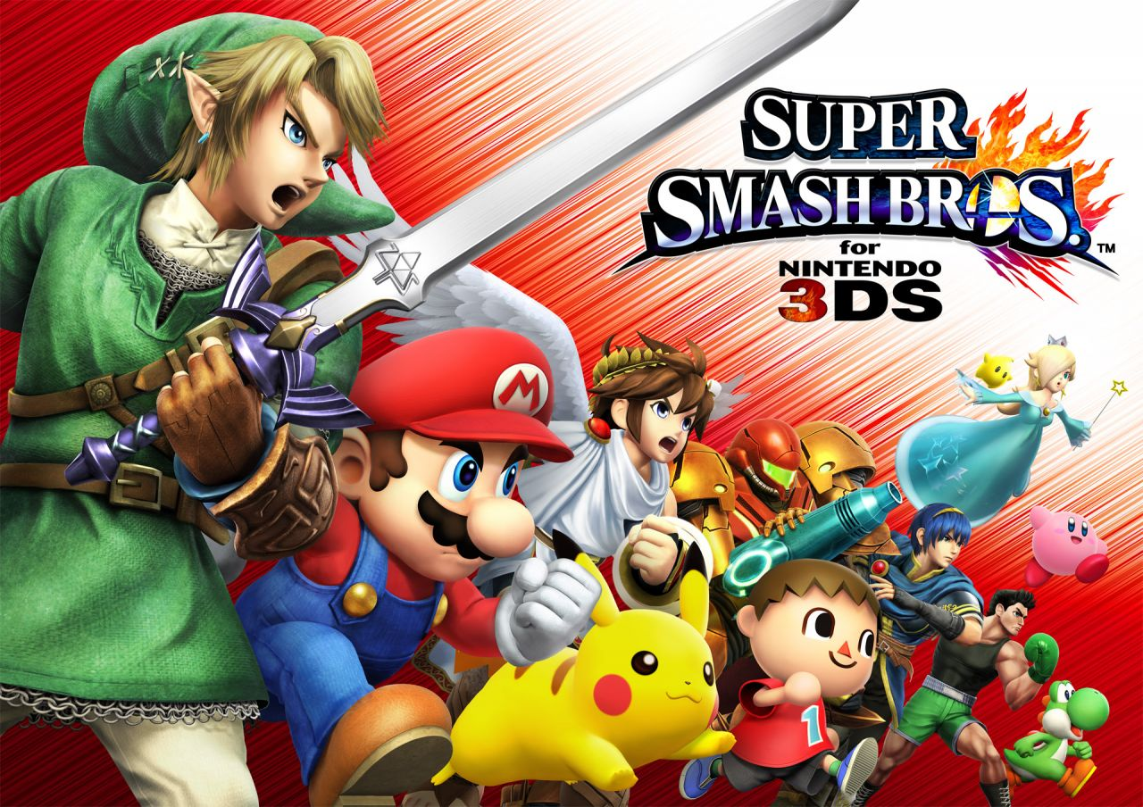 Super Smash Bros 3DS : La bande-annonce officielle de lancement