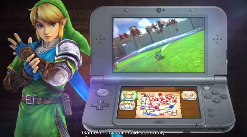 Hyrule Warriors Legends : Trailer de l'E3