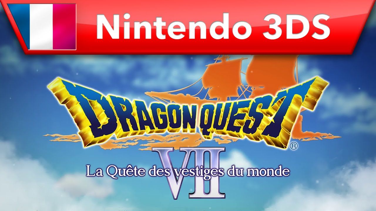 Dragon Quest VII : Le nouveau trailer 3DS