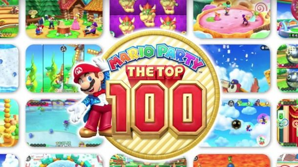 Mario Party The Top 100 : 100 mini-jeux sur 3DS