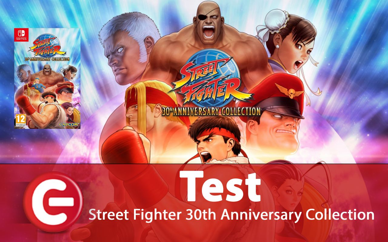 Street Fighter 30th Anniversary Collection : Le test !