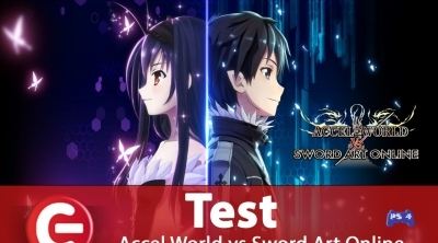 Accel World vs Sword Art Online : Notre test !