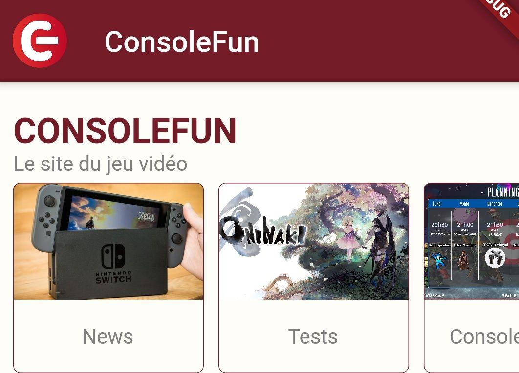 ConsoleFun arrive prochainement sur iOS, avec l'arrivée de la V4 sous Android. Découvrez les images !