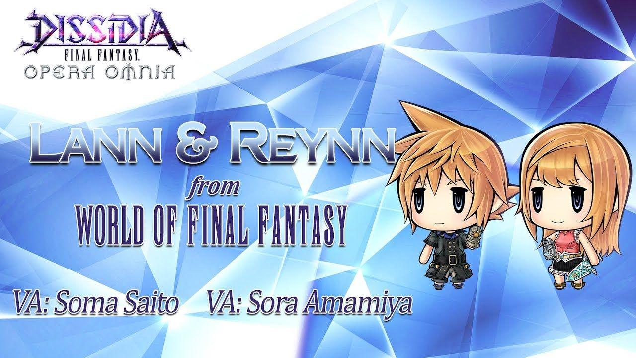 Dissidia Final Fantasy Opera Omnia fait venir les héros de World of Final Fantasy