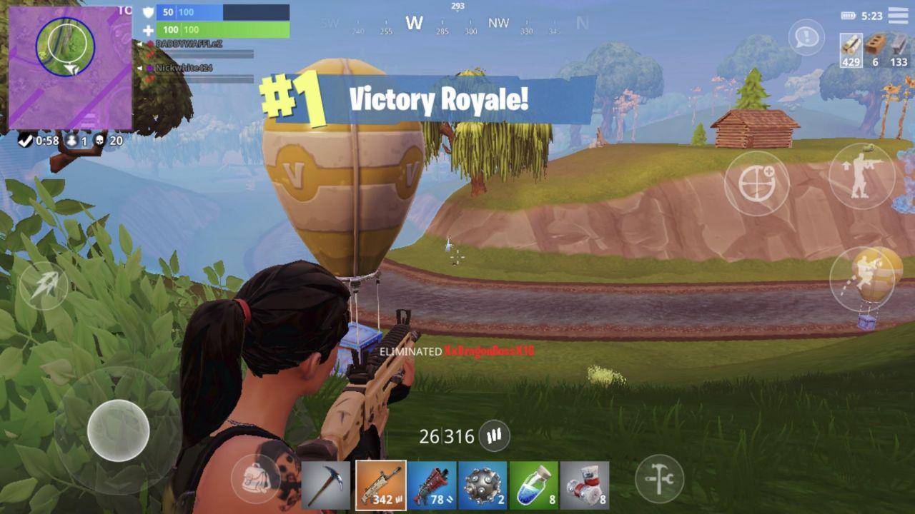 Fortnite Android Jeux Video Sur Consolefun Fr