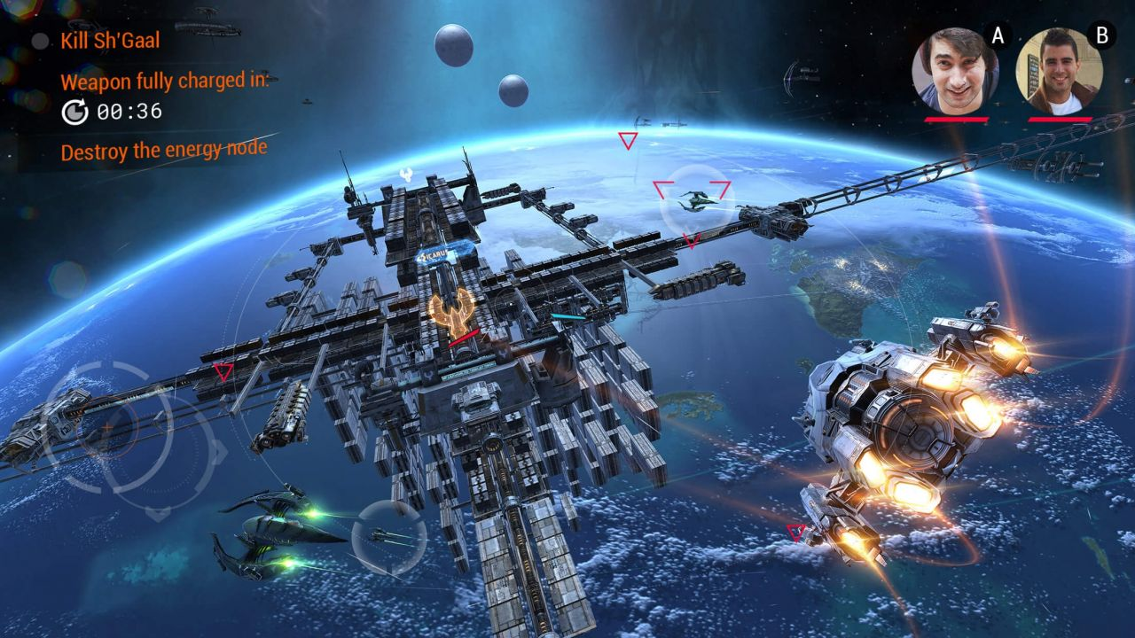 Galaxy on Fire 3 : le titre au moteur graphique Vulkan disponible sur Android