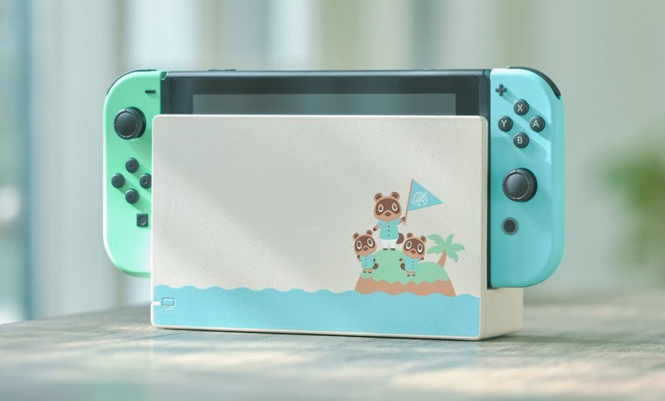[STOCK Micromania] La console Nintendo Switch - Animal Crossing en édition limitée !