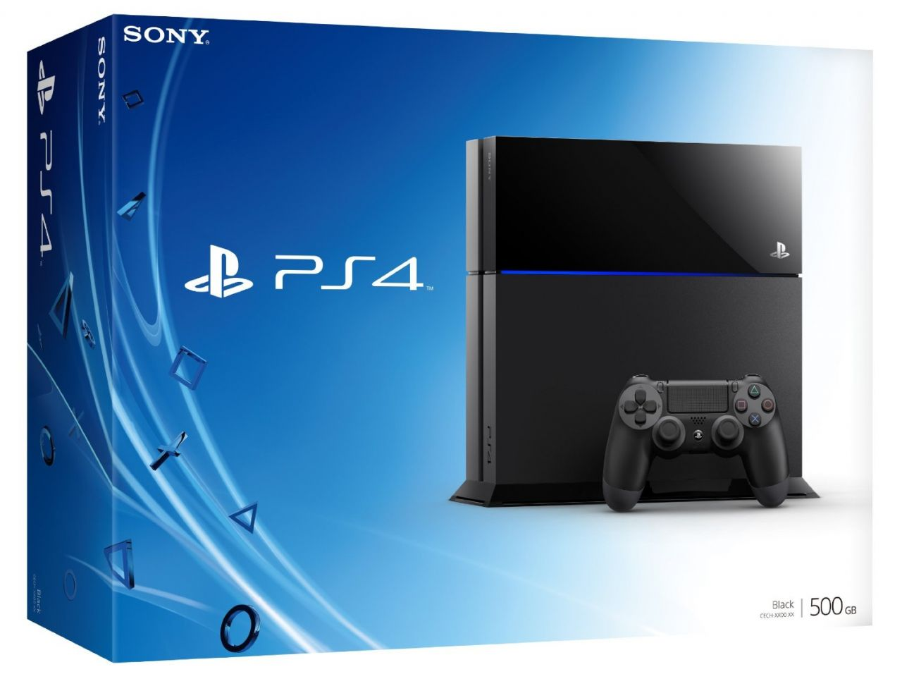 PS4 500go + Drive Club + FIFA 15 + PS PLUS 1an = 509.99 E