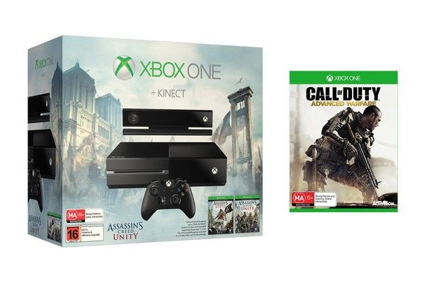 Bon plan : Xbox One + AC Unity + AC Black Flag + COD Advanced Warfare à 369euros