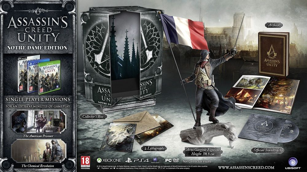 [Bon Plan] Amazon : Assassin's Creed Unity - Edition Notre Dame à 42 euros