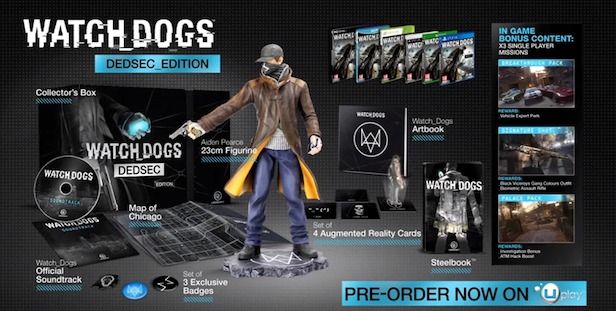 Bon Plan Amazon : Watch Dogs édition DEDSEC (25e) et FFXIII-3 (10e)