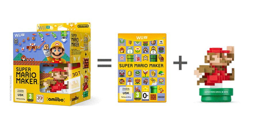 Bon Plan : Super Mario Maker + Amiibo 'Super Mario Bros'
