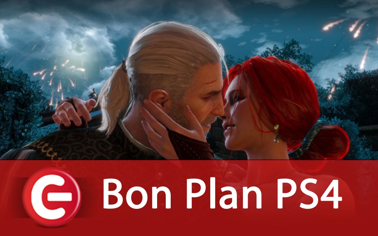 Bon Plan PS4 : The Witcher 3 à 35 euros