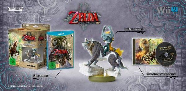 Bon Plan : The Legend of Zelda Twilight Princess HD Edition Limitée Wii U à 45 euros