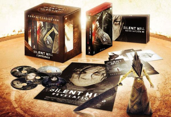 Bon Plan : Coffret Bluray 3D Silent Hill + Silent Hill Revelations + Figurine Pyramid Head  à 36 euros !
