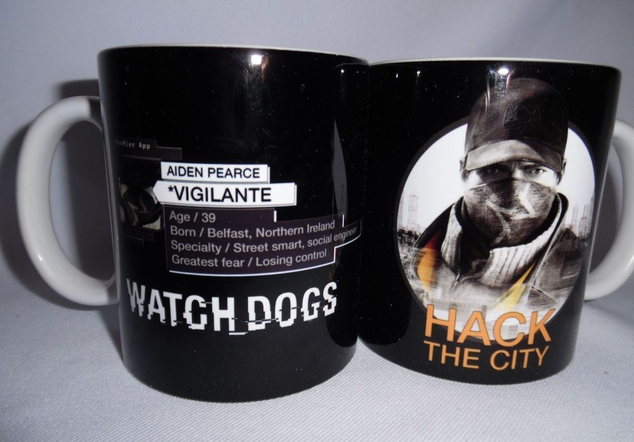 Bon Plan : Le MUG Watch Dogs à 2,14 euros sur Amazon