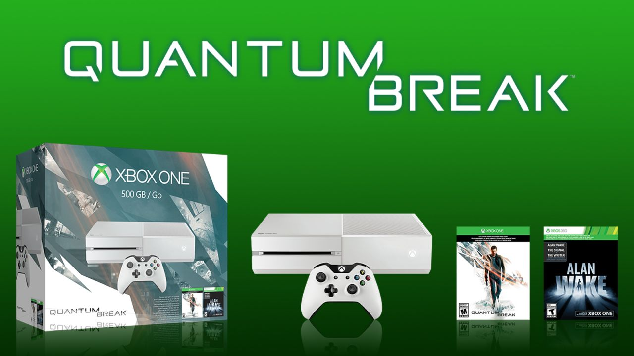 Bon Plan : Xbox One blanche + Quantum Break + Alan Wake à 299 euros