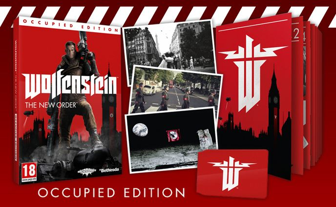 Bon Plan : Wolfenstein The New Order édition Occupied à 9,99 euros
