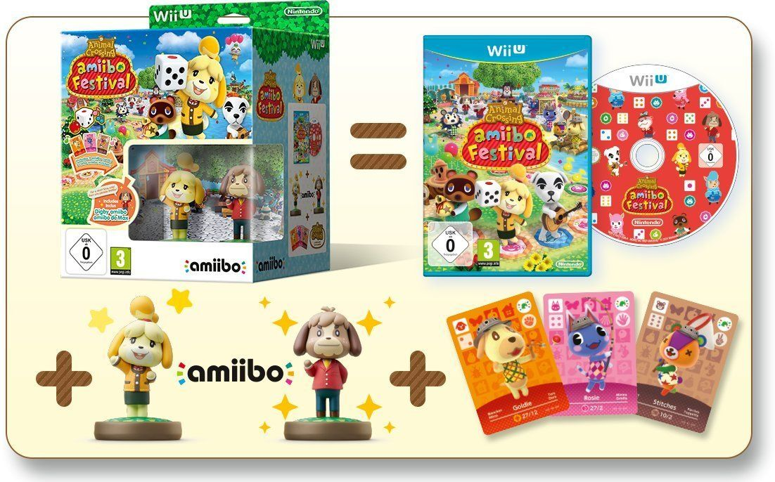 Soldes : Animal Crossing amiibo Festival + 2 Figurines + 3 cartes à 13,5 euros
