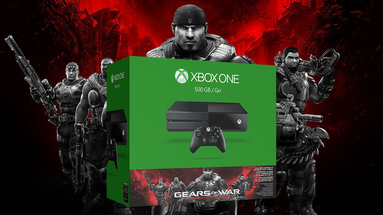 Bon Plan : Xbox One + 100 euros de carte cadeau  Amazon + Gears of War Ultimate Edition