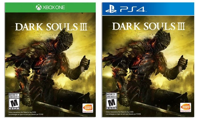 Bon Plan (12/07 uniquement) : Dark Souls III à 32,99 euros