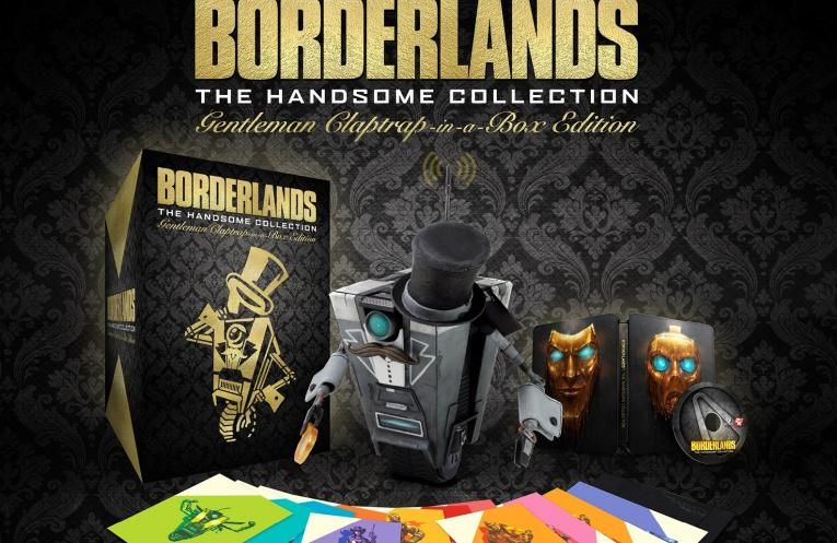 Bon Plan : Borderlands: The Handsome Collection - Gentlemen Claptrap-in-a-Box à moitié prix !