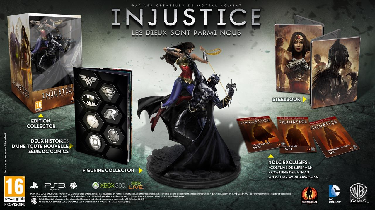Bon Plan : L'édition collector de Injustice à 19,99 euros