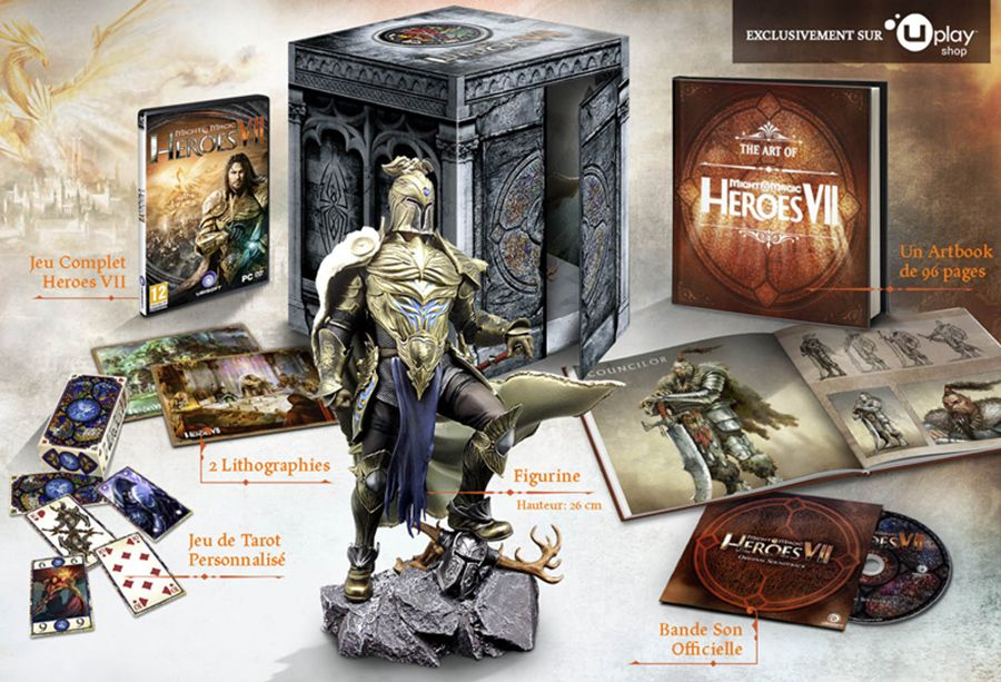 L'édition collector de Might & Magic Heroes VII en promotion sur le ubi store (33,99 euros)