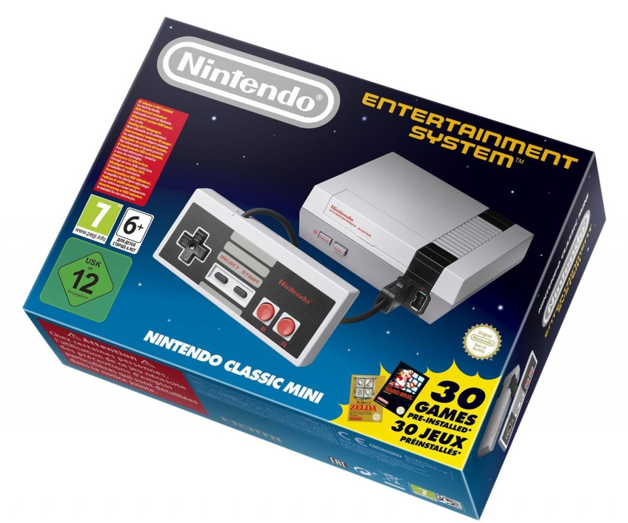 [Expiré] Restock : NES Mini Classic disponible sur Amazon.FR à 69,99 euros