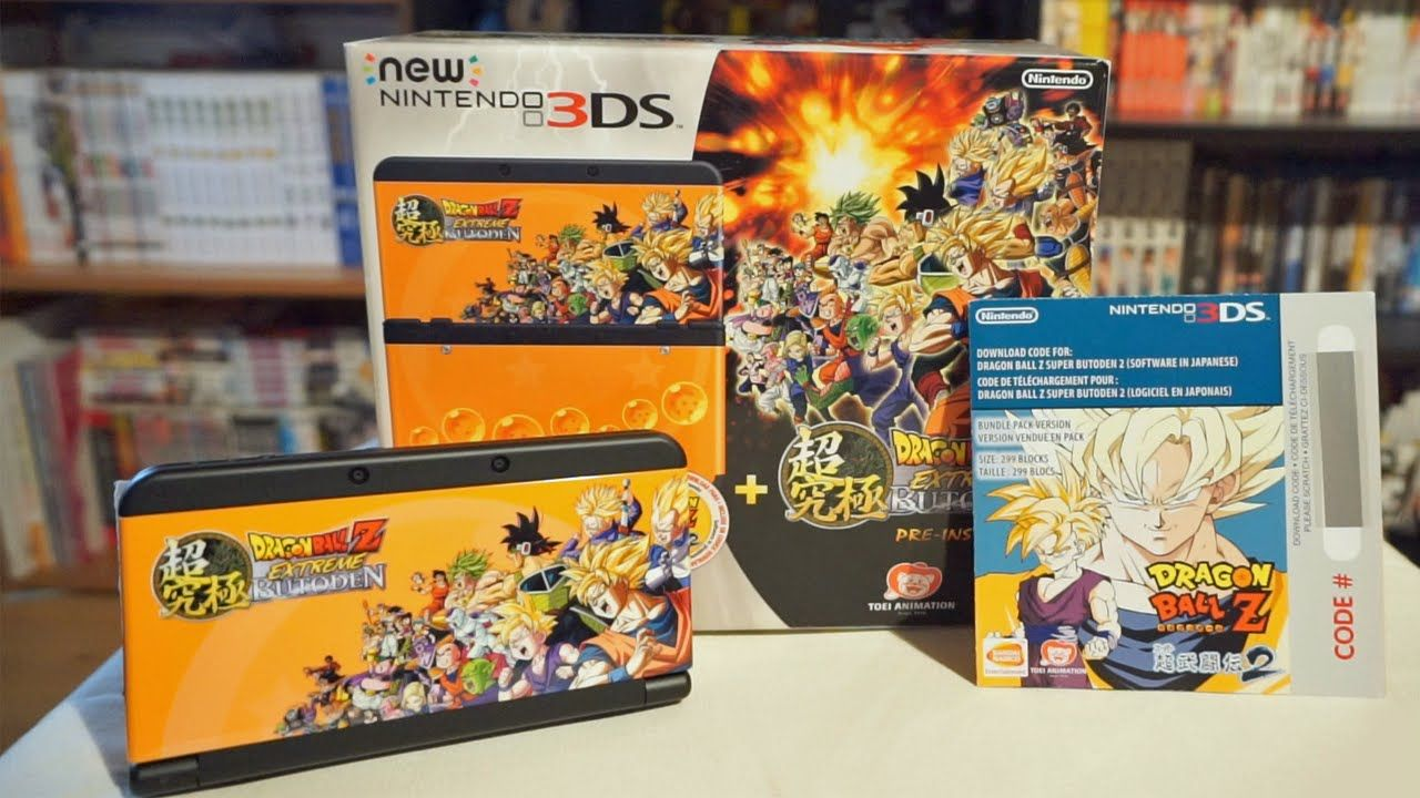 Bon Plan Micromania : Nintendo New 3DS Noire + Dragon Ball Z Extreme Butoden + Bravely Default + Pokémon X à 139 euros