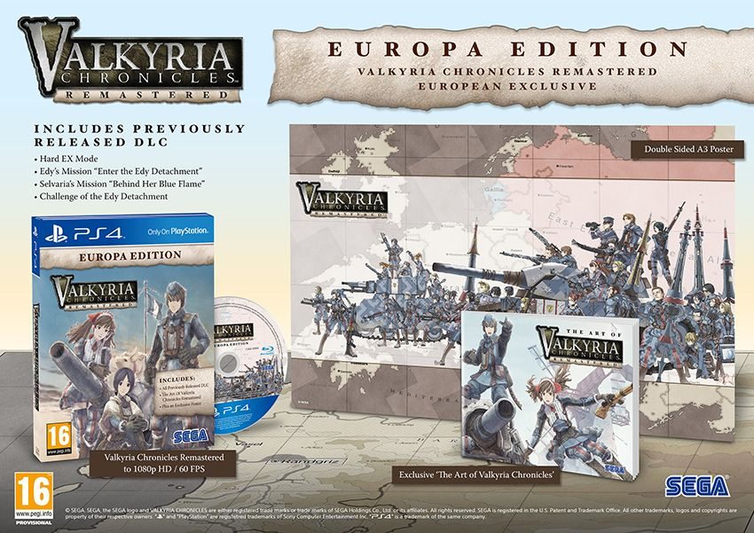 Bon Plan : Valkyria Chronicles Remastered sur PS4 à 14,99 euros (au lieu de 24,99...)