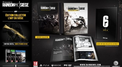Bon Plan PC : L'édition collector de Rainbow Six Siege à 29,99 euros au lieu de 49,99....