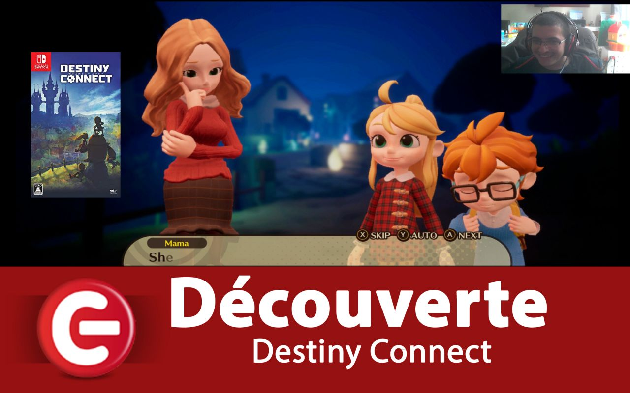 [DECOUVERTE] Destiny Connect : Tick-Tock Travelers sur Switch