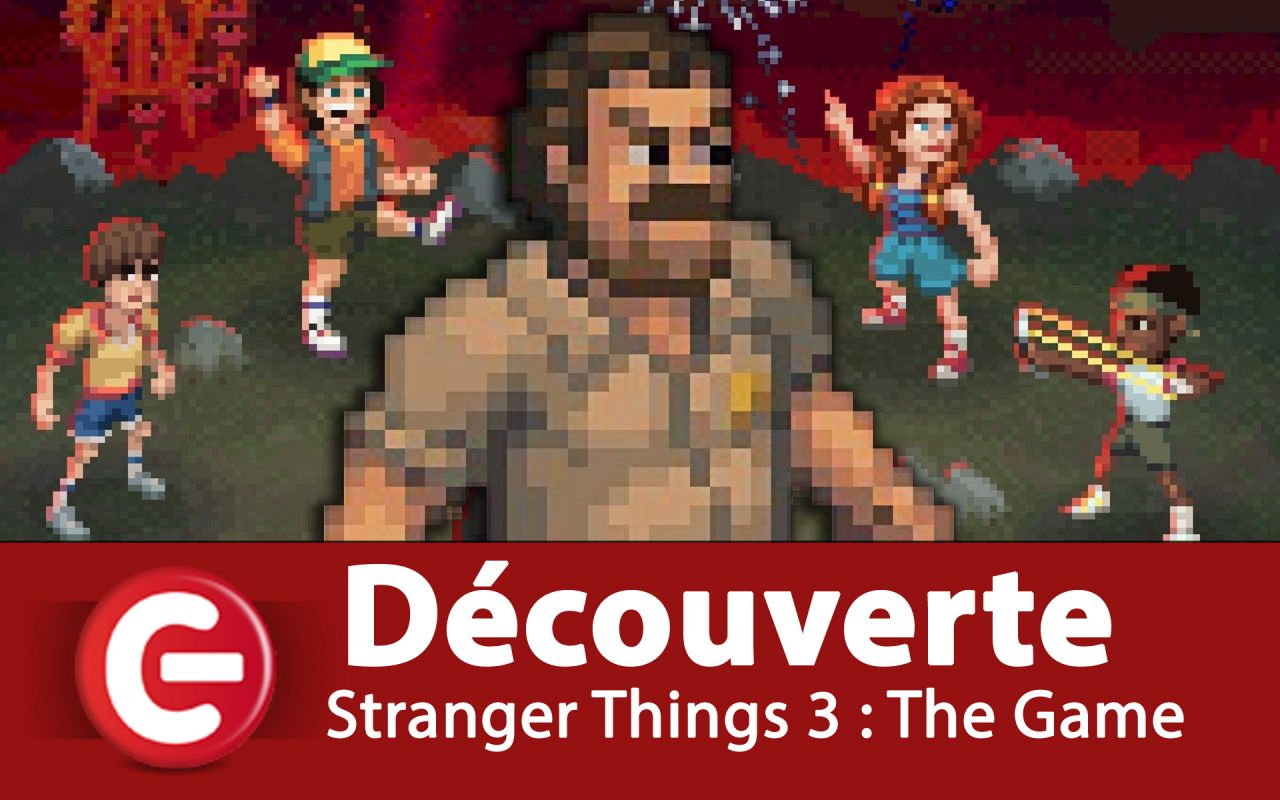 [Découverte] Stranger Things 3 : The Game, aussi cool que la série TV ?