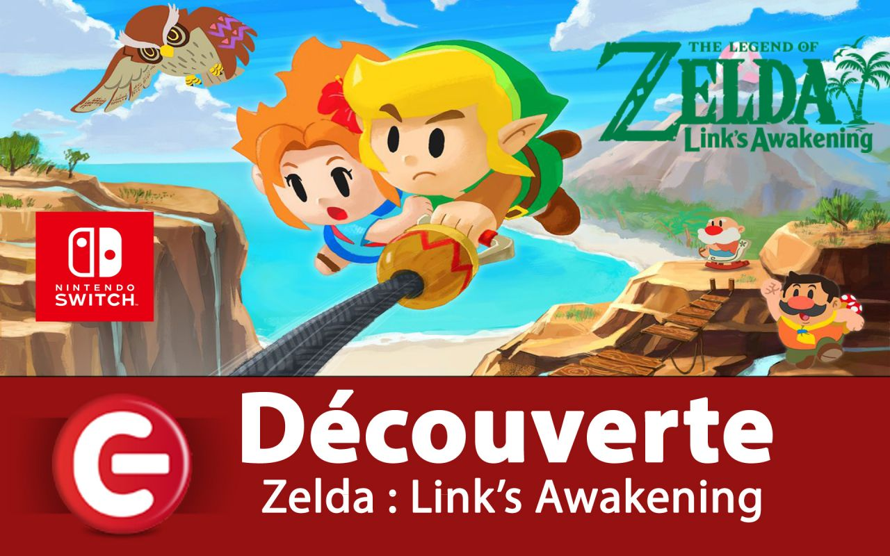 [DECOUVERTE] The Legend of Zelda : Link's Awakening - Switch