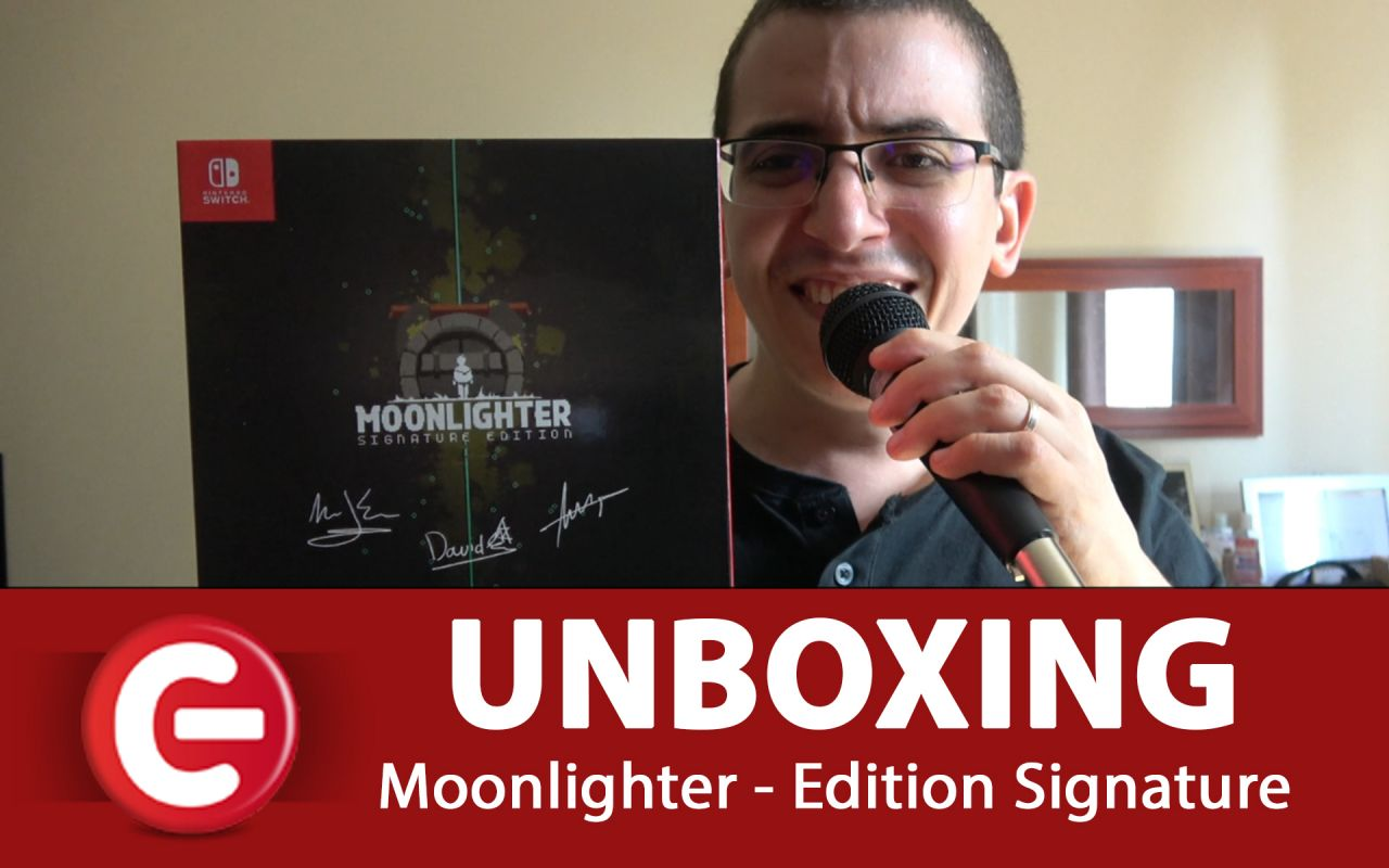 [UNBOXING] Notre déballage de l'édition SIGNATURE de Moonlighter - Switch