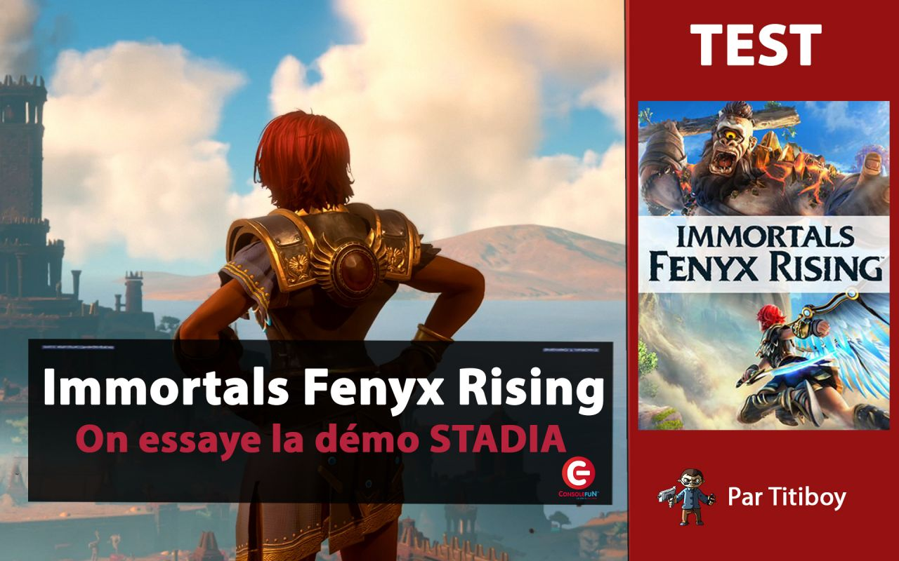[TEST / REVIEW] Immortals Fenyx Rising - DEMO STADIA ! (l'ex Gods & Monsters entre nos mains)