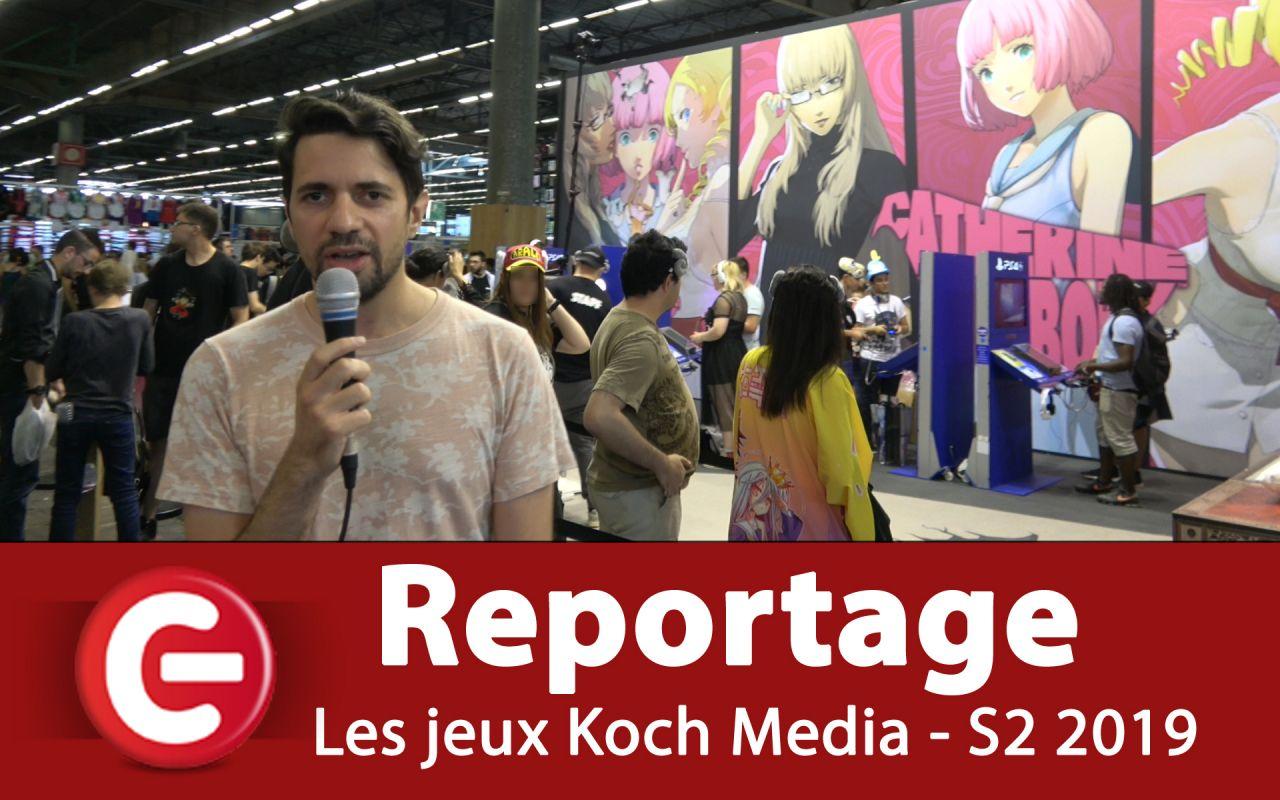 Japan Expo 2019 : Les jeux à venir de Koch Media pour le S2 2019 ! (Catherine Full Body, Disgaea 4 Complete+, Alliance Alive HD Remaster...)