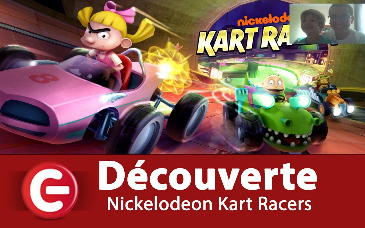 [Découverte] Nickelodeon Kart Racers sur Nintendo Switch