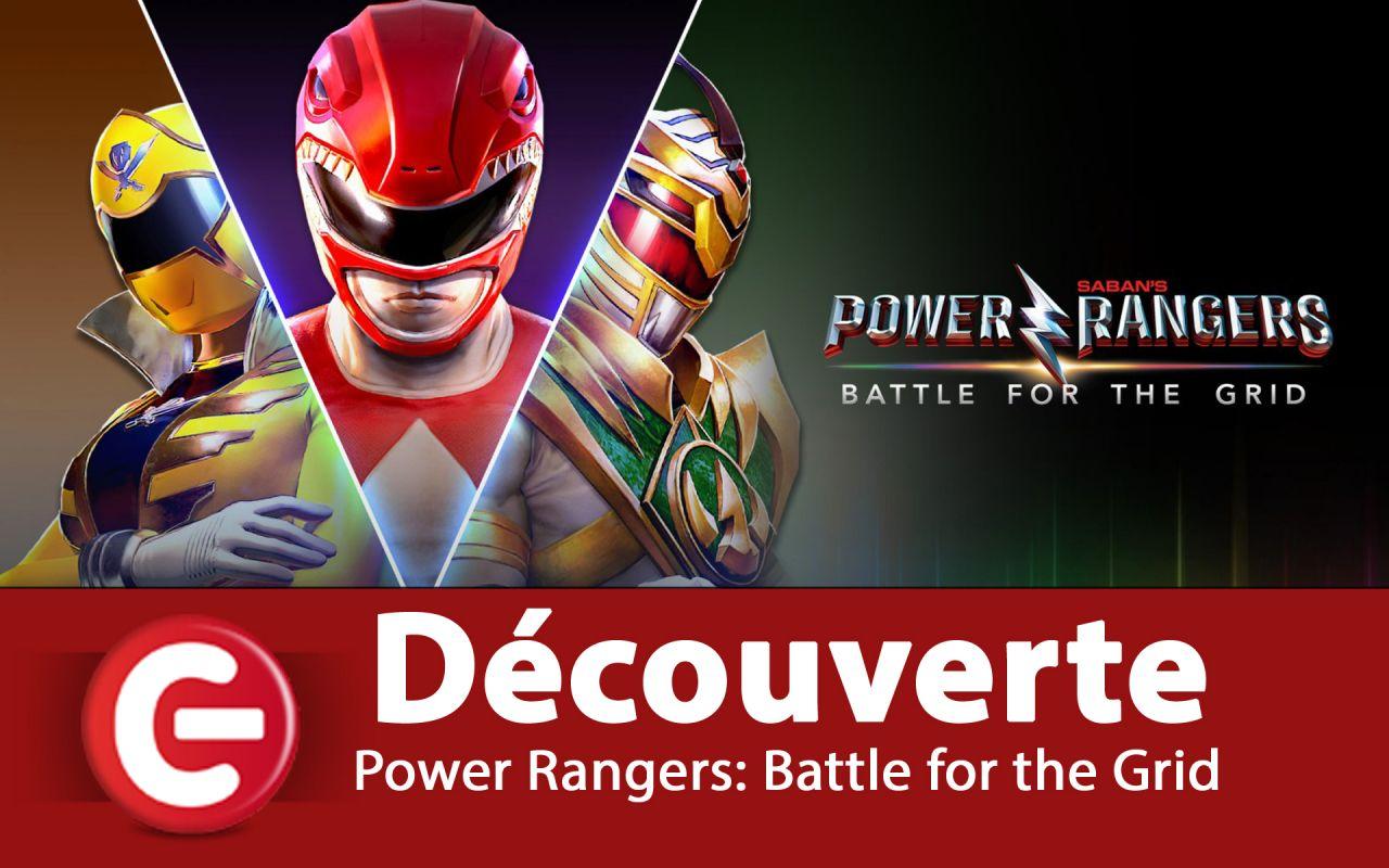 [Découverte] Power Rangers: Battle for the Grid sur Switch