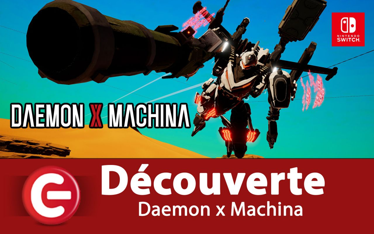 [DECOUVERTE] Daemon x Machina sur Nintendo Switch