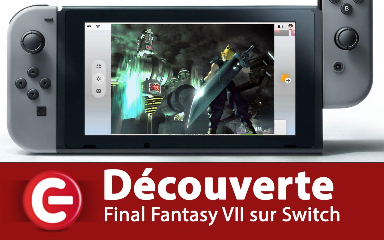 [Découverte] Final Fantasy VII sur Nintendo Switch, Ça vaut le coup ?
