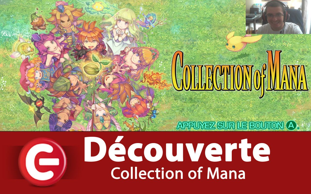 [Découverte] Collection of Mana sur Nintendo Switch, avec un vent de nostalgie !